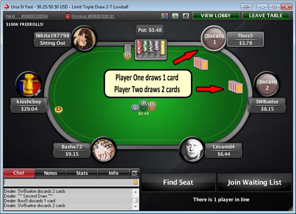 Play 5 card draw poker online