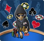 Player Win Poker Tournament